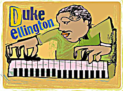 Duke Elllington Fine Art Print