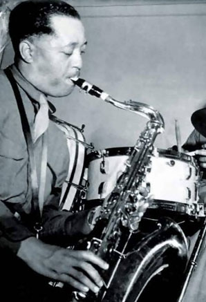 lester young photograph