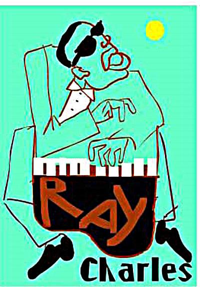 Ray Charles Fine Art Print