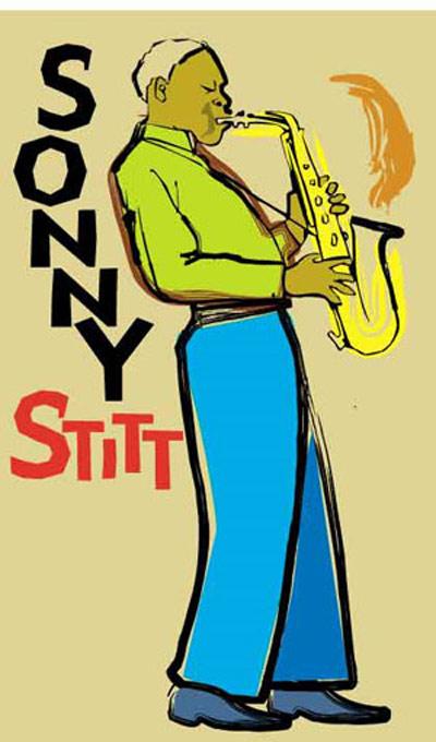 Sonny Stitt Fine Art Print