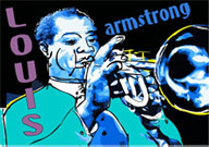 Louis Armstrong Fine Art Print