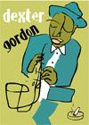 Dexter Gordon Fine Art Print