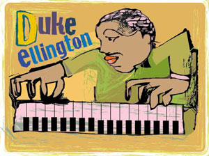 duke ellington artwork