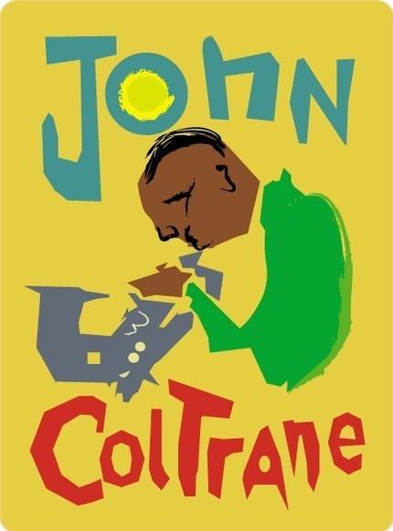 JOHN COLTRANE FINE ART PRINT