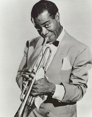 Louis armstrong photograph
