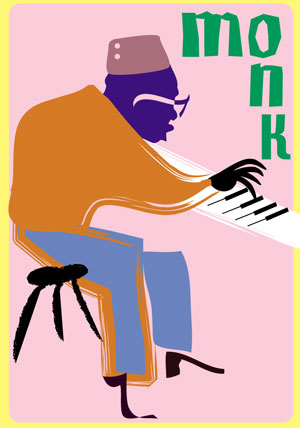 thelonious monk art