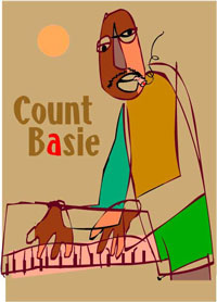 count basie artwork