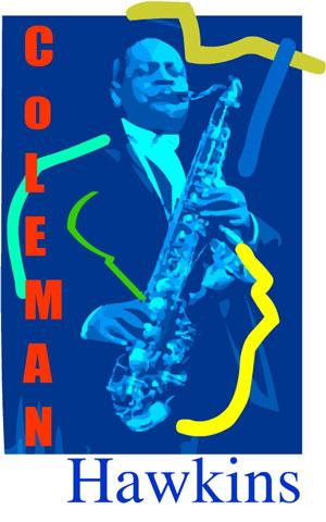 coleman hawkins jazz art