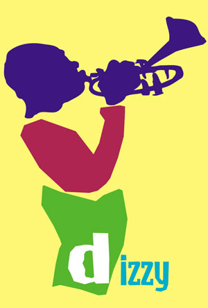 dizzy gillespie artwork