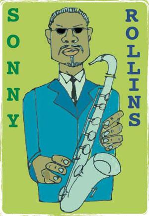 SONNY ROLLLINS ART PRINT